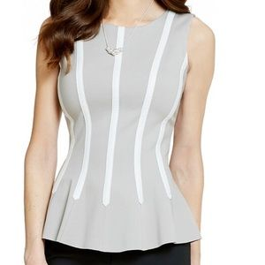 Beautiful top with sexy back zippee sz M